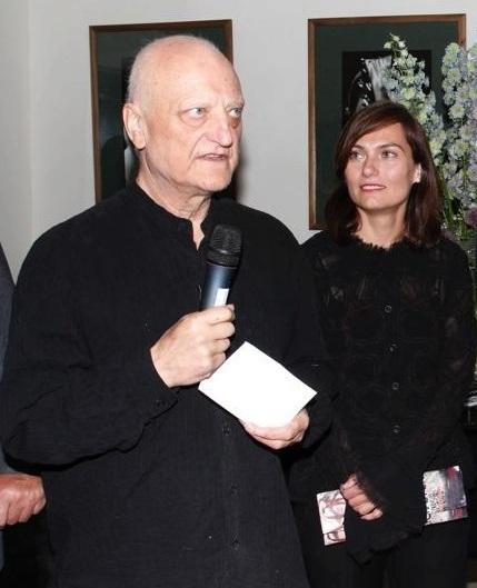 Stanislavová s dnes již zesnulým Šípkem na jeho loňské výstavě.