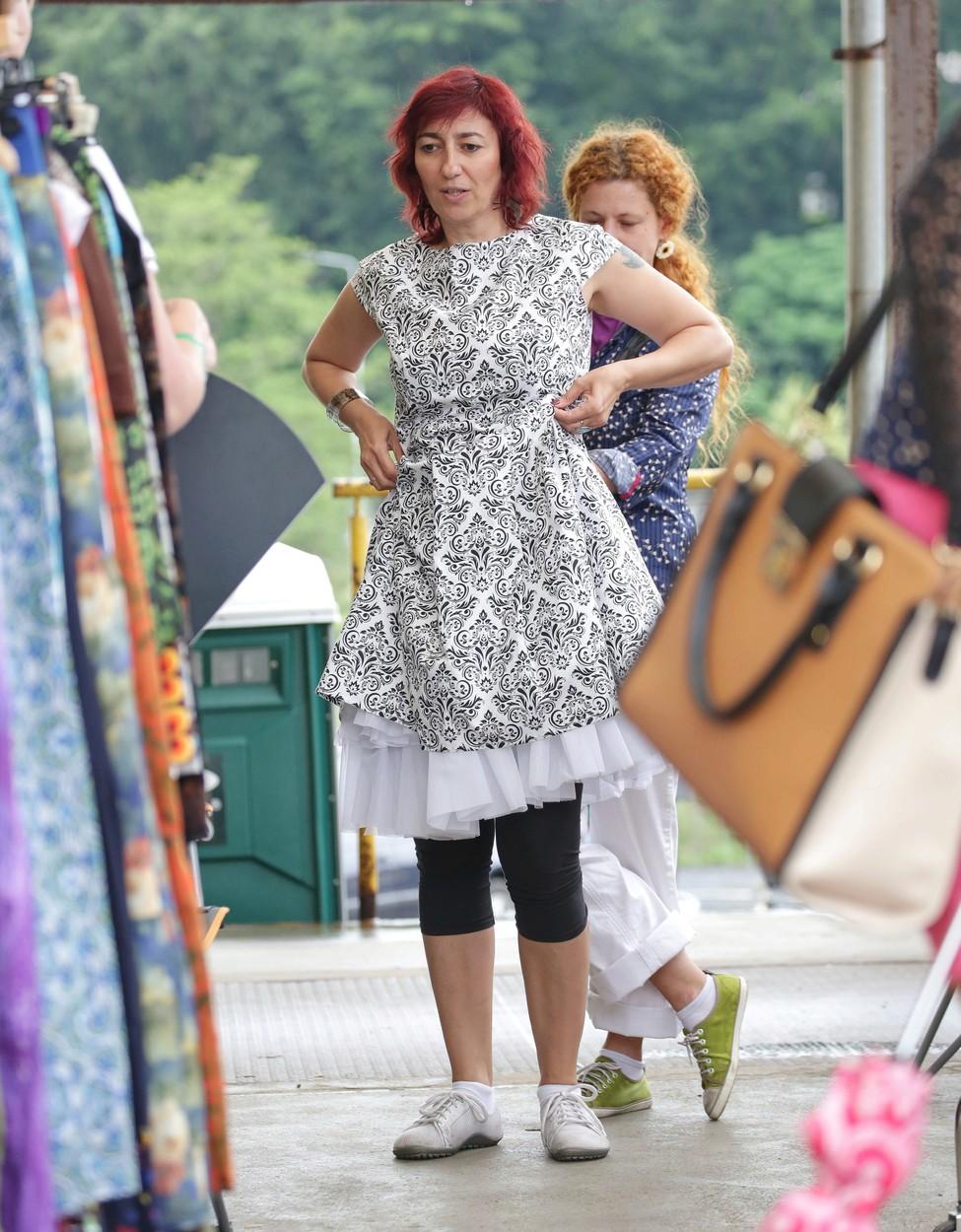 Simona Babčáková nakupovala na Fashion marketu.