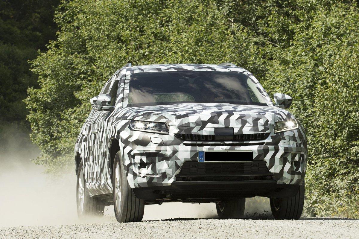 Nové SUV Škoda Kodiaq
