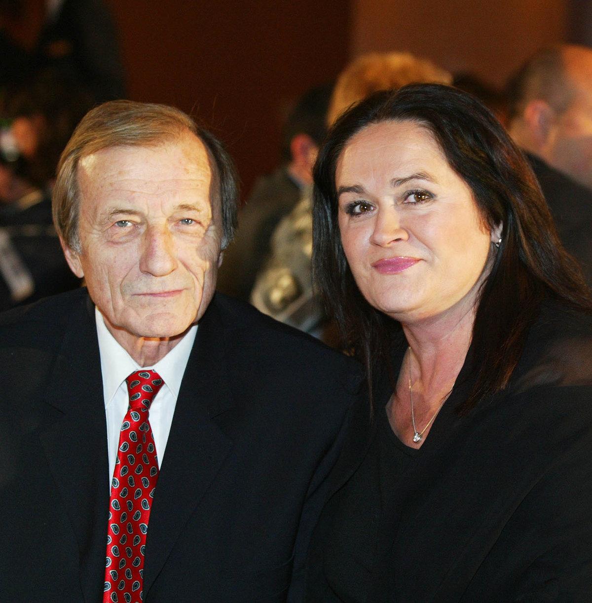 Hana Gregorová a Radek Brzobohatý.