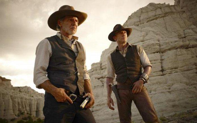 Setkání dvou filmovýchveličin Harrisona Forda(vlevo) a Daniela Craiganedopadlo nejlépe