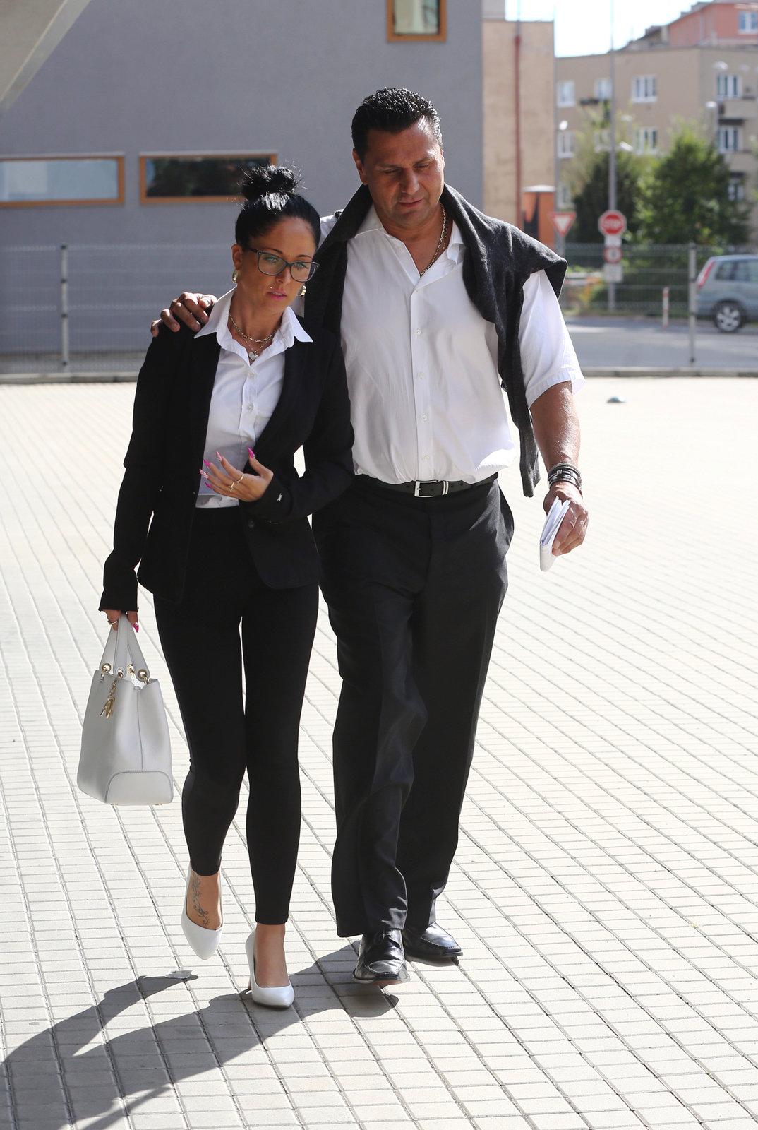 Vladimír Růžička s přítelkyní.