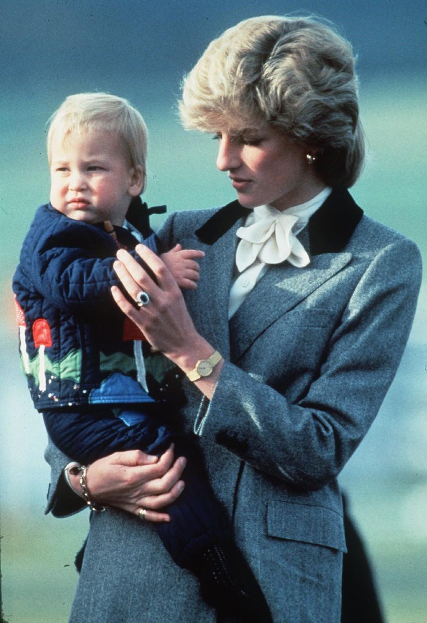 Diana a princ William
