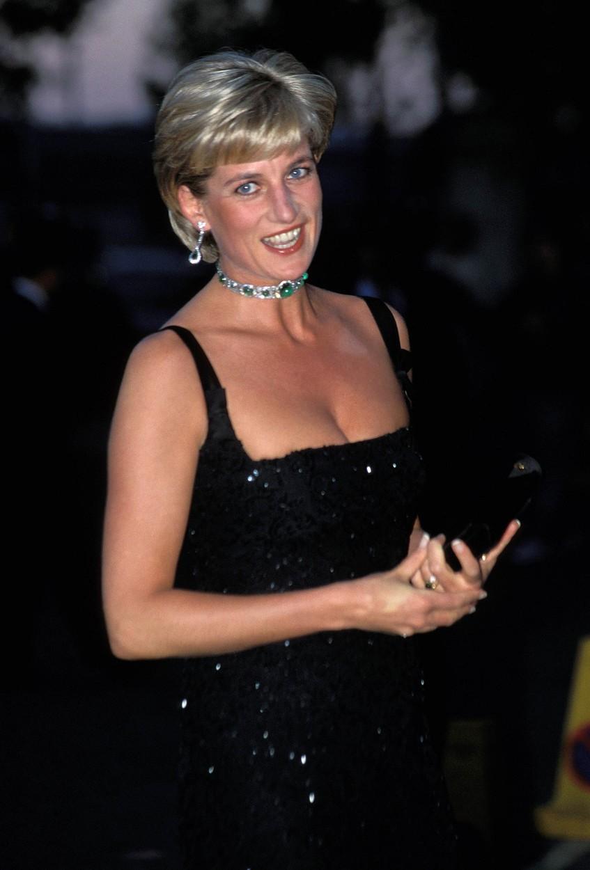 Diana v červenci roku 1997