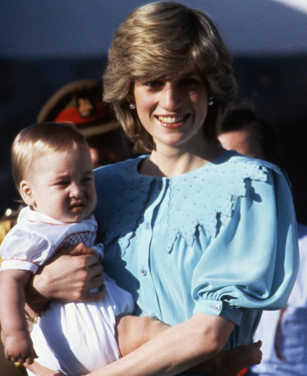Diana s princem Williamem