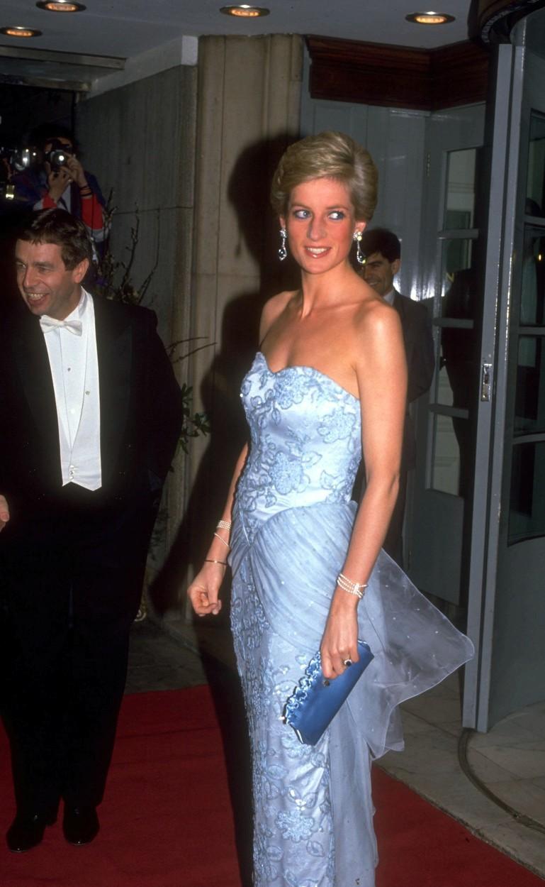 Diana byla vždy inspirací, i co se týče módy.