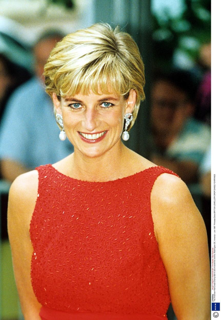 Diana v červnu 1997