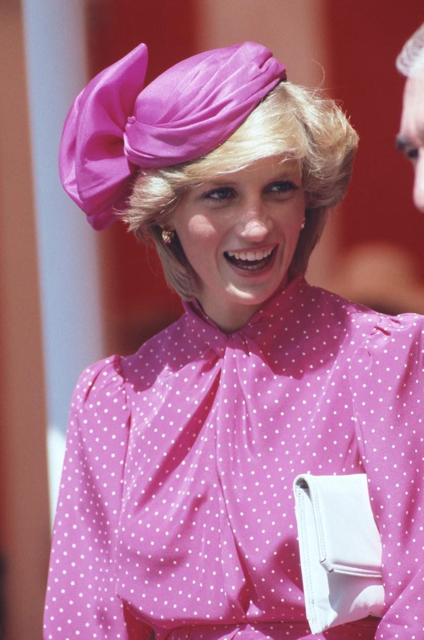 Lady Diana v roce 1983.
