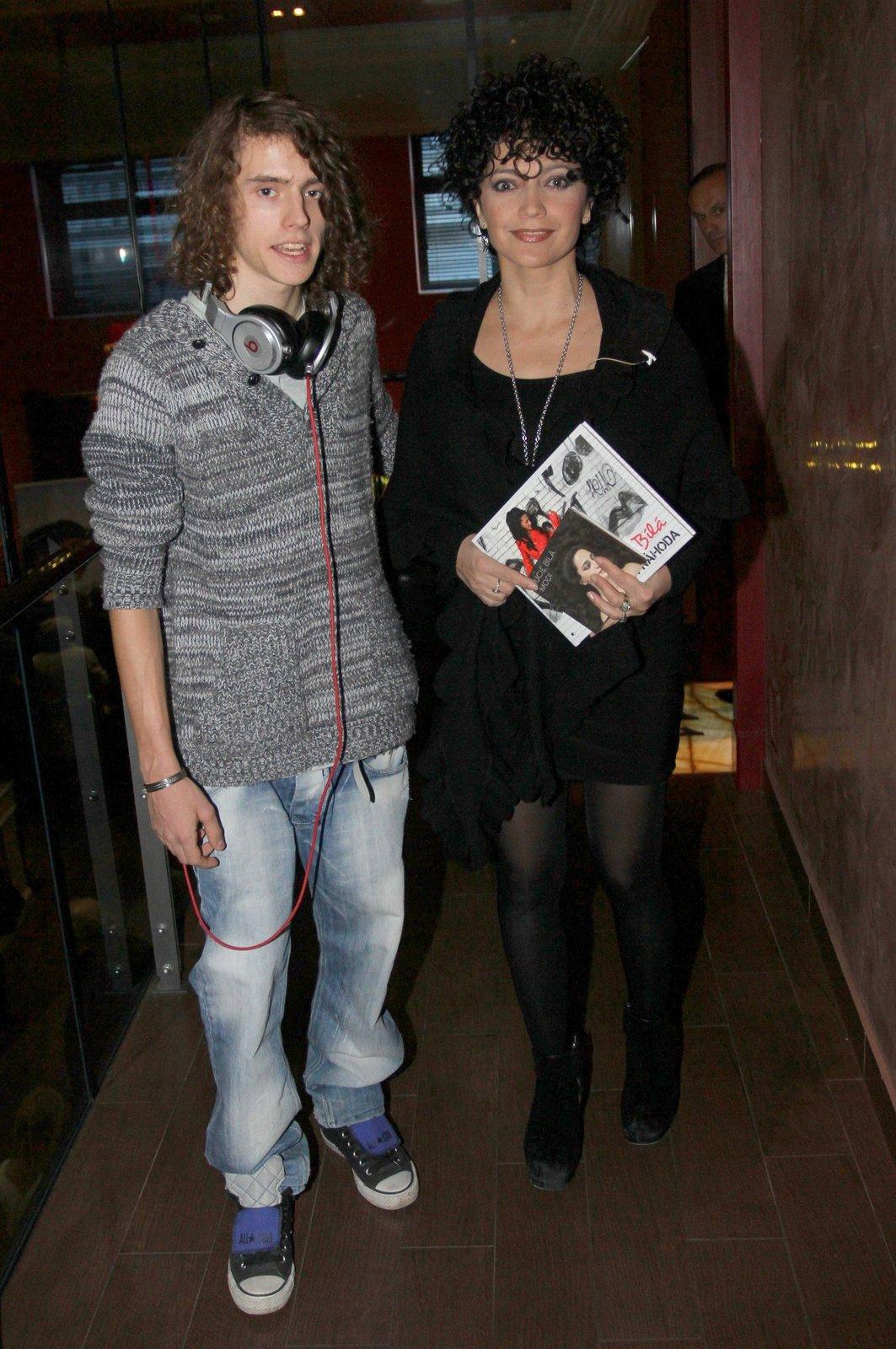 Lucie Bílá se obává, že jí syn pláchne do zahraničí!