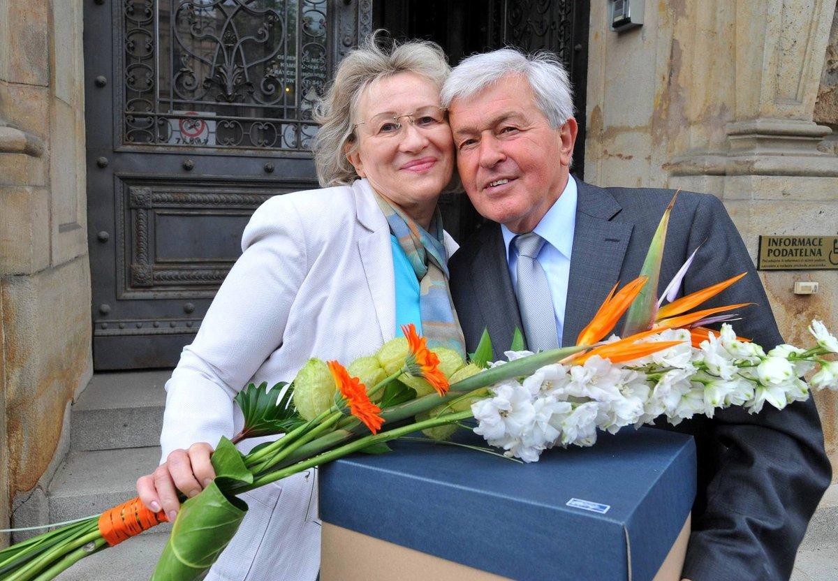 S manželkou Ludmilou jsou spolu už od roku 1965.
