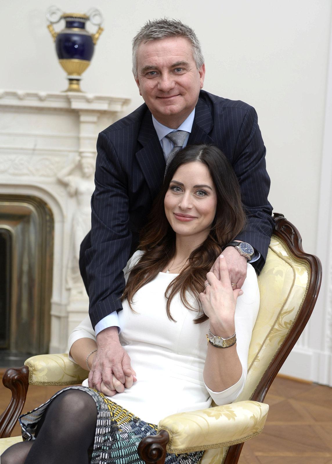 Manželé Vratislav a Alexandra Mynářovi