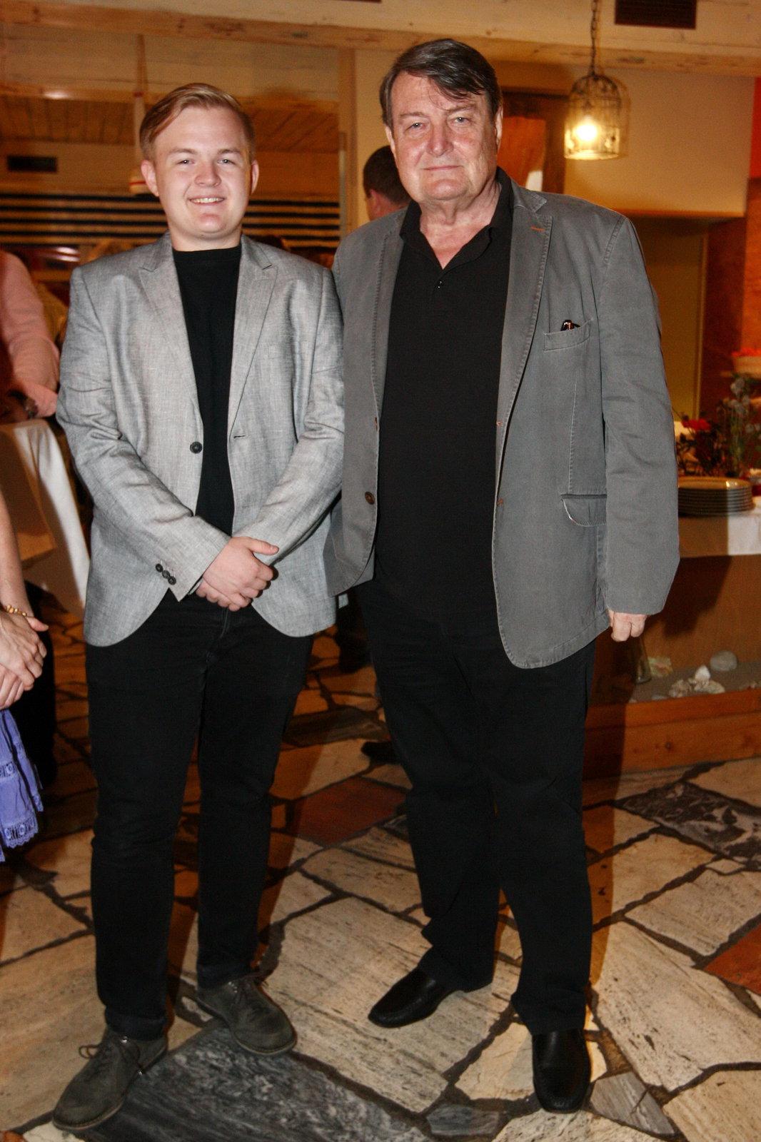 Ladislav Štaidl se synem Arturem Štaidlem.