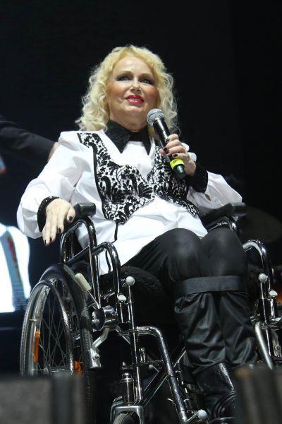 Zpěvačka zazpívala tři písně.
