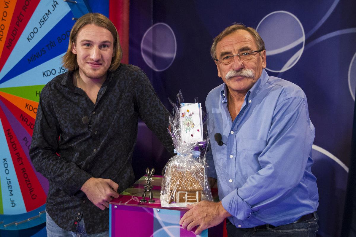 Pavel Zedníček a jeho synovec Jakub
