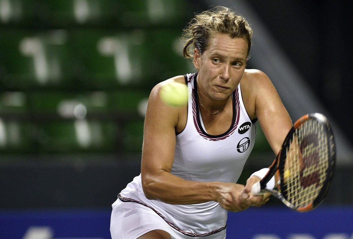 Barbora Strýcová na turnaji v Tokiu
