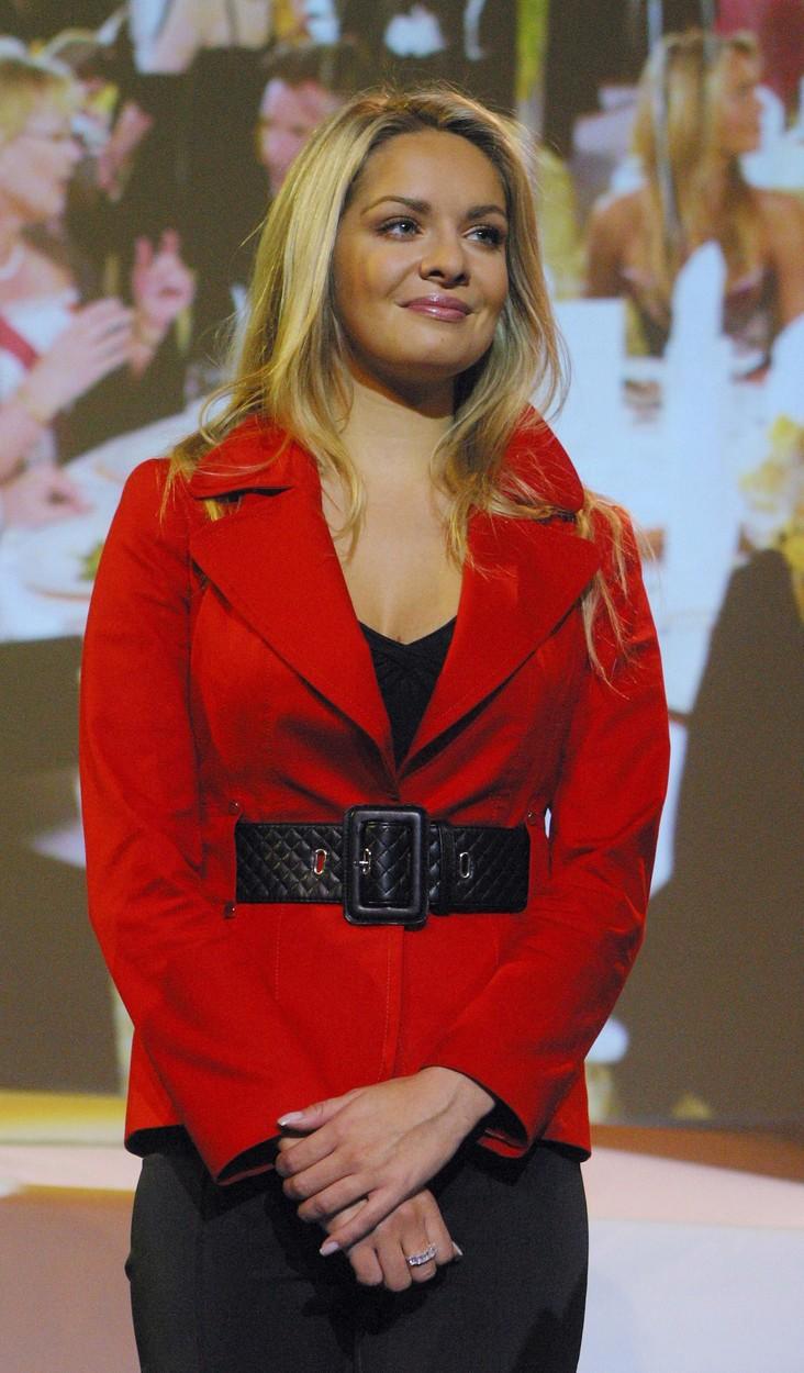 Taťána na festivalu Tourfilm v roce 2007.