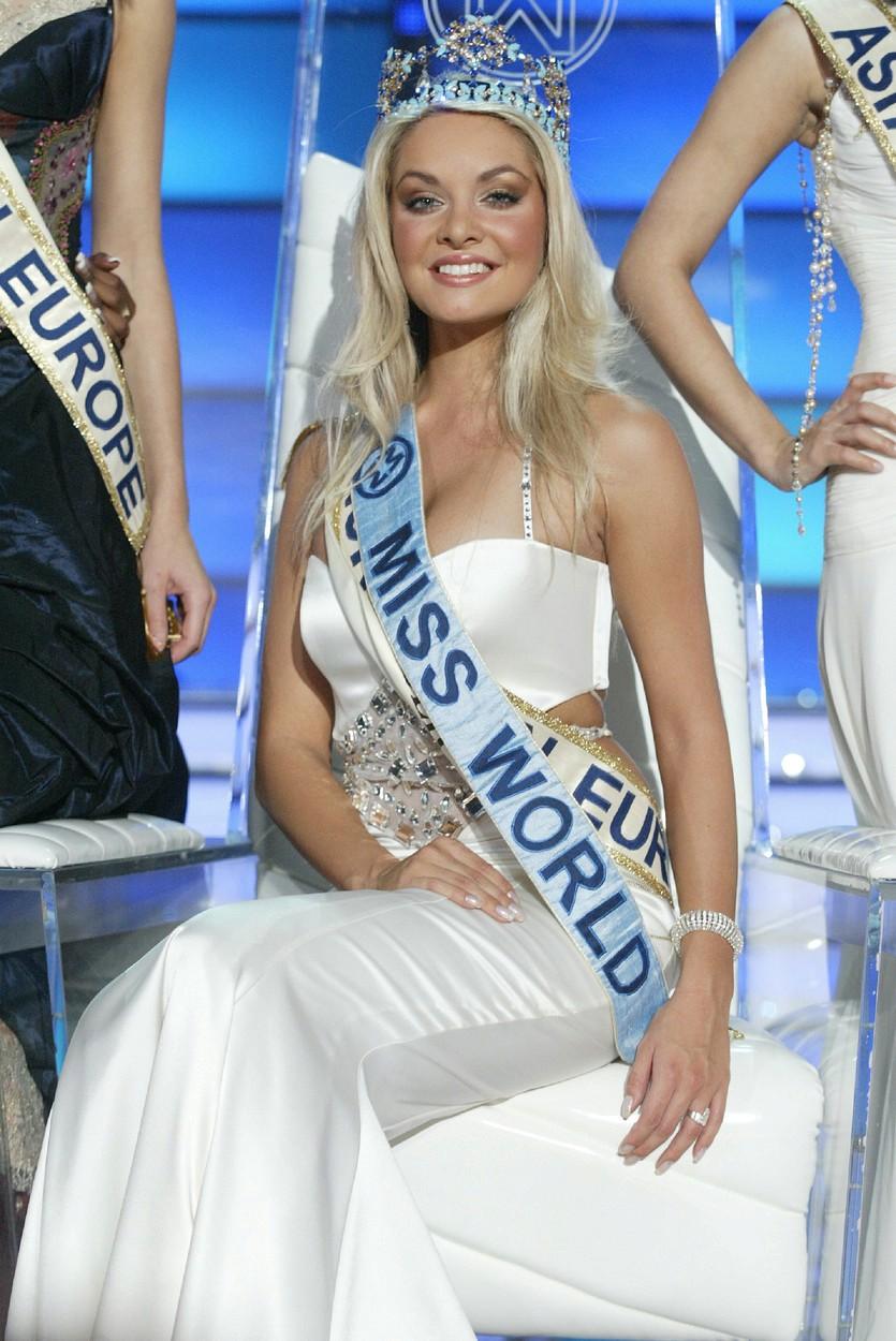 Miss World vyhrála Taťána K. Gregor před deseti lety.