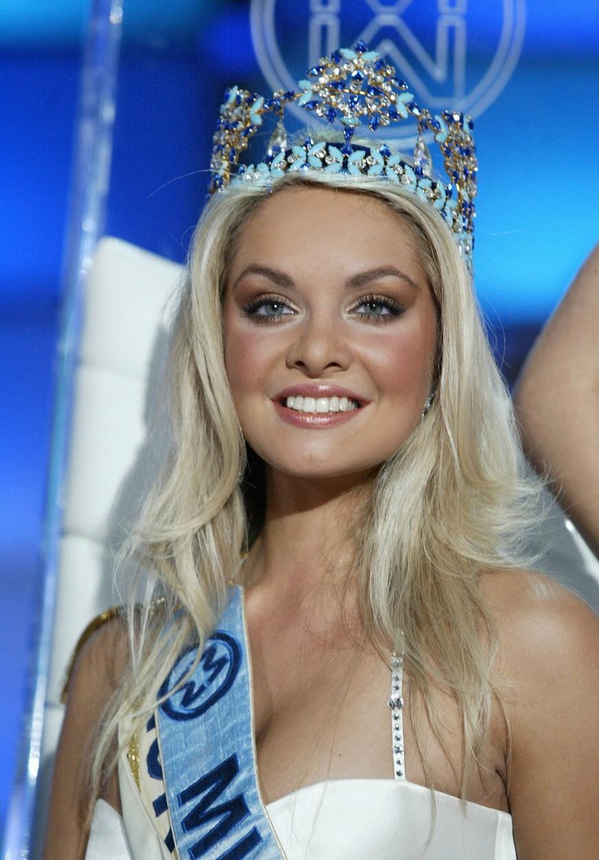 Taťána K. Gregor se stala Miss World v roce 2006.