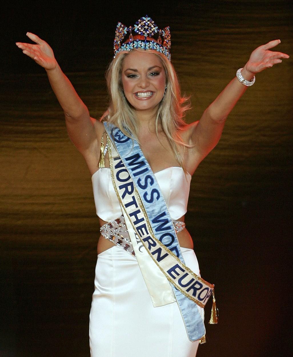 Taťána K. Gregor se stala Miss World