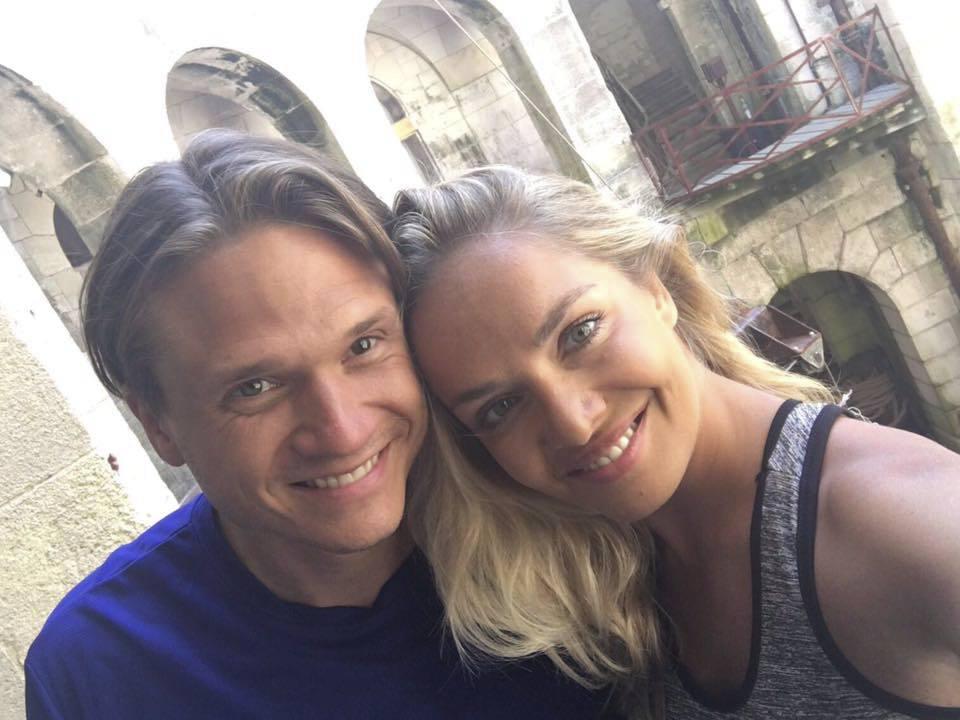 Taťána K. Gregor s manželem Ondřejem.