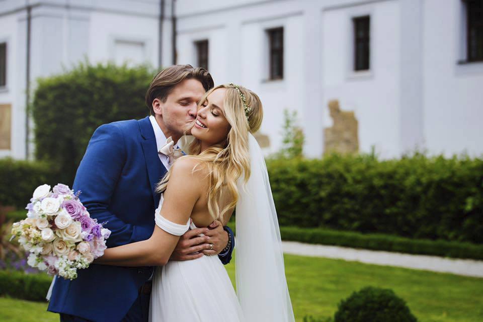 Taťána Kuchařová se provdala letos v létě.