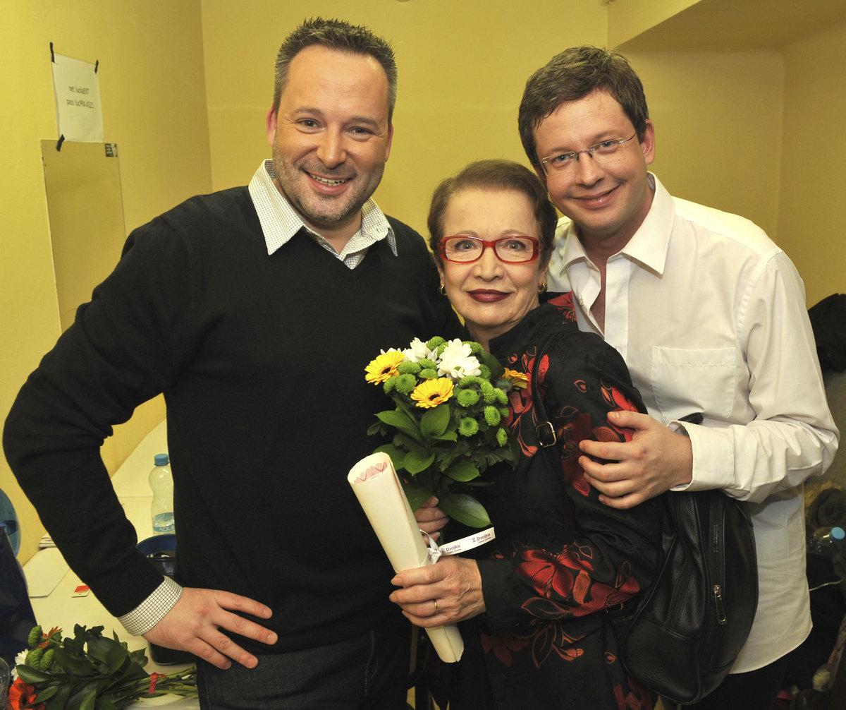 Hanu Maciuchovou řadí mezi své nejlepší přátele. Byla ale i Michalovou kantorkou.