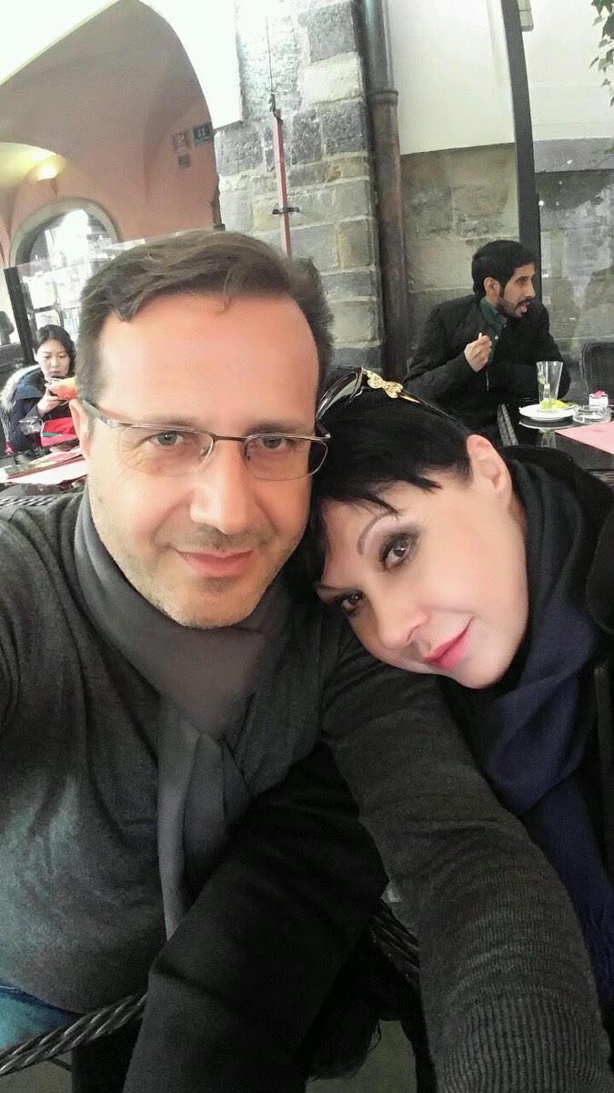 Dáda s italským přítelem Vitem.