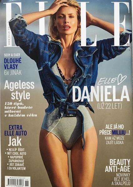 Daniela si k narozeninám nadělila titulku Elle