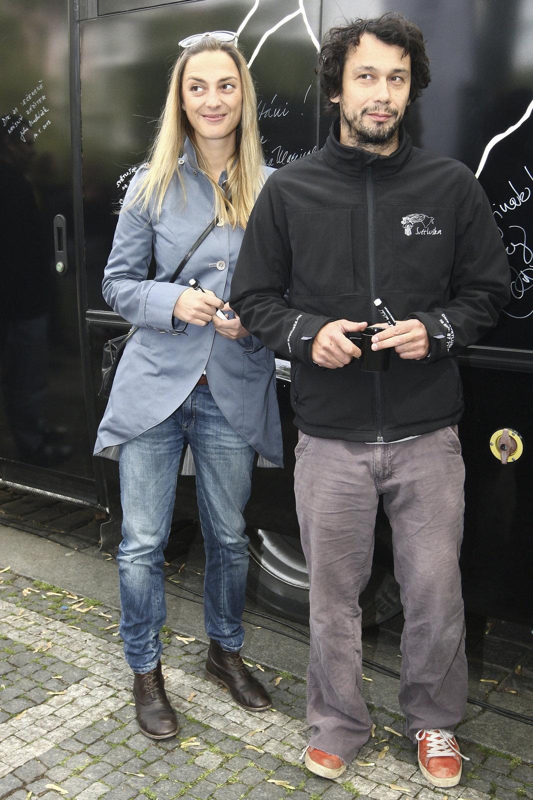 Pavel Liška a Bára Poláková