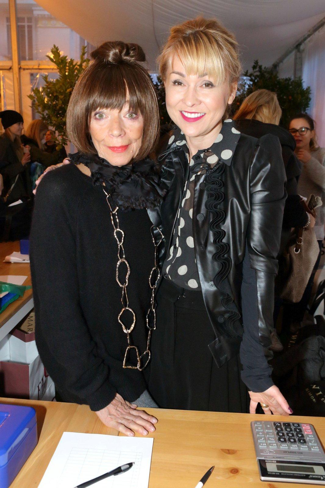 Kateřina s Františkou Čížkovou