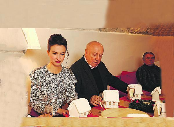 Felix Slováček s Lucií Gelemovou.