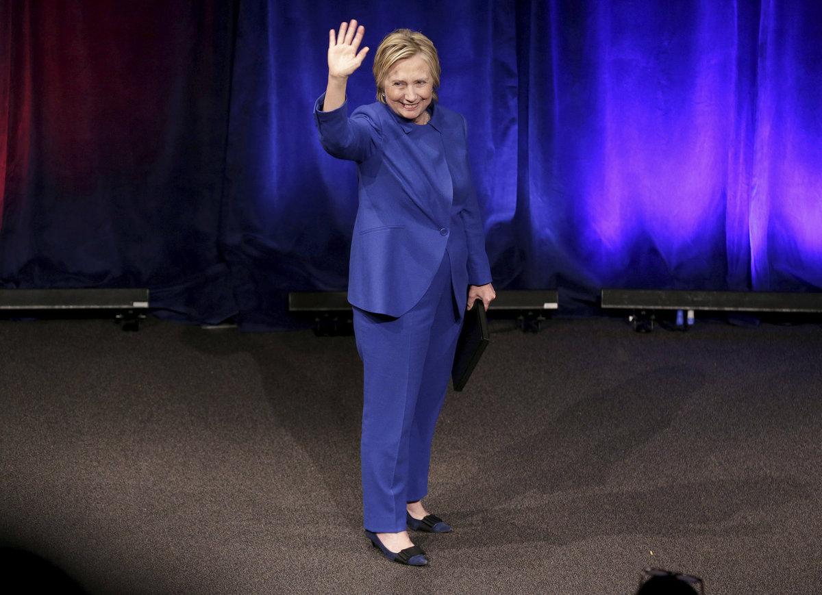 Hillary Clintonová vystoupila na výroční schůzi Nadace na ochranu dětí