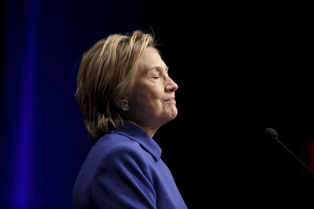 Bývalá první dáma a exministryně zahraničí Hillary Clintonová