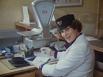 1980 - Jako pošťačka v komedii Trhák.