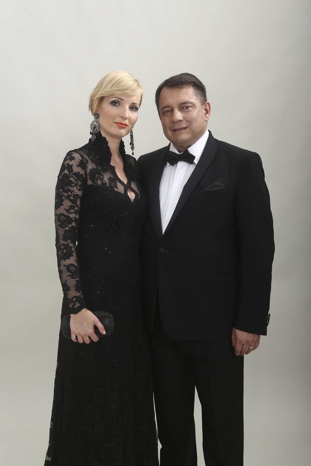 Petra Paroubková s manželem.