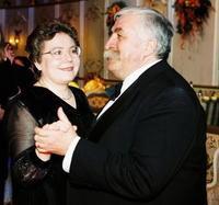 Július Satinský s druhou ženou Vierou