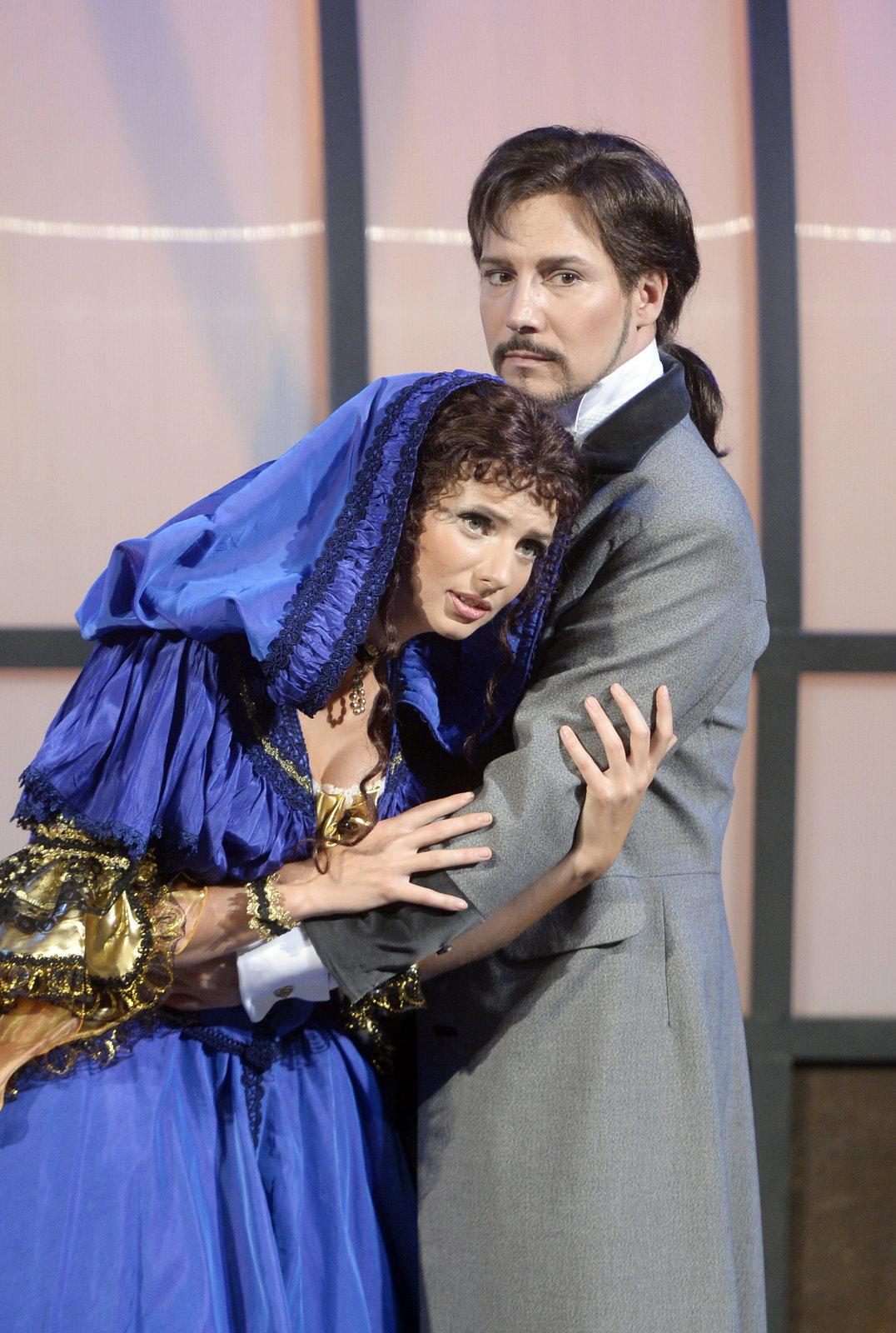 Bohuš Matuš v muzikále Fantom Opery.