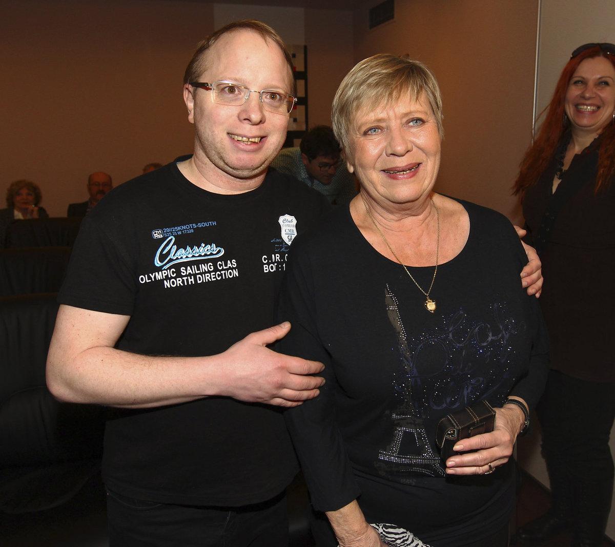 Jaroslava Obermaierová a její syn.