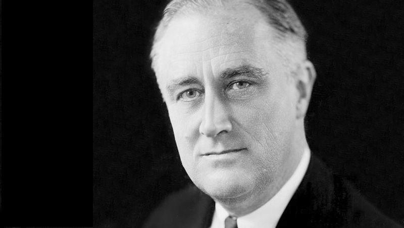 Franklin D. Roosevelt, 32. prezident. Ten měl rád párky v rohlíku, ovocný koláč a sýrové tousty.