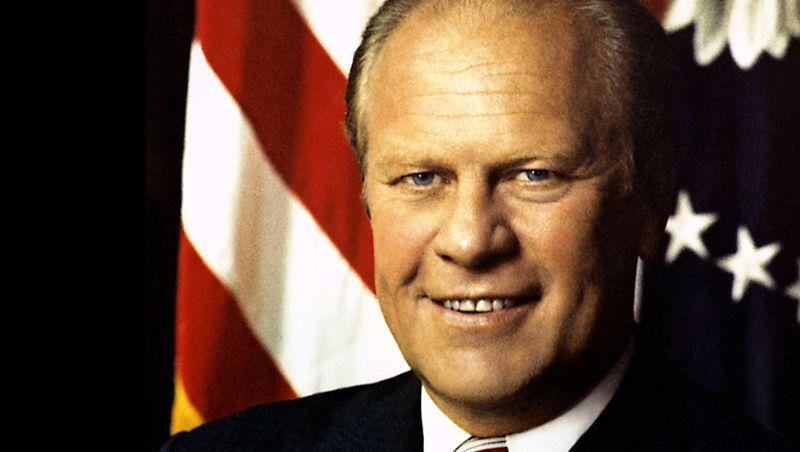 Gerald Ford, 38. prezident, si užíval pečeni a červené zelí na másle a ořechovou zmrzlinu jako dezert.