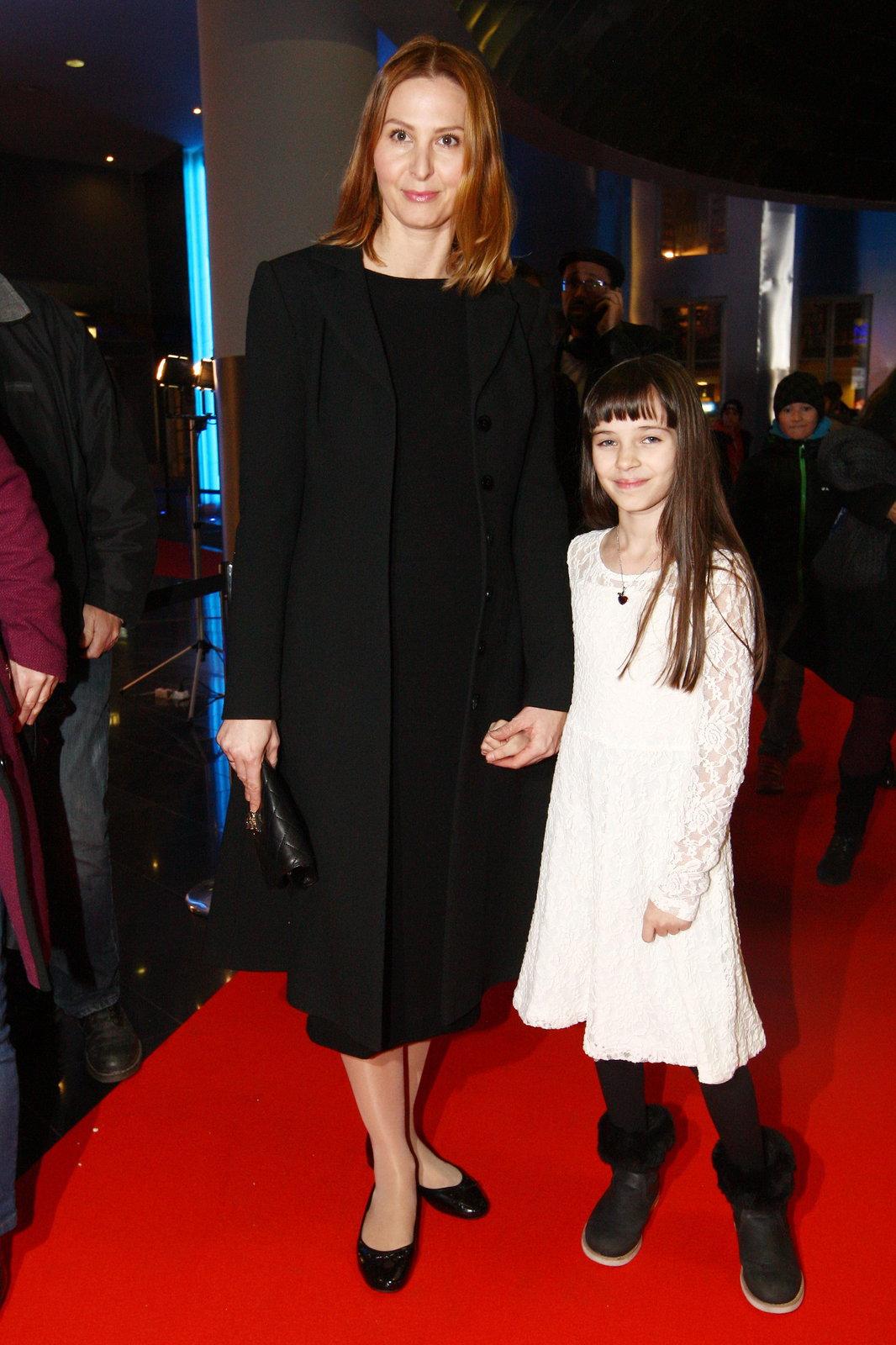 Charlotta s maminkou Ivanou.