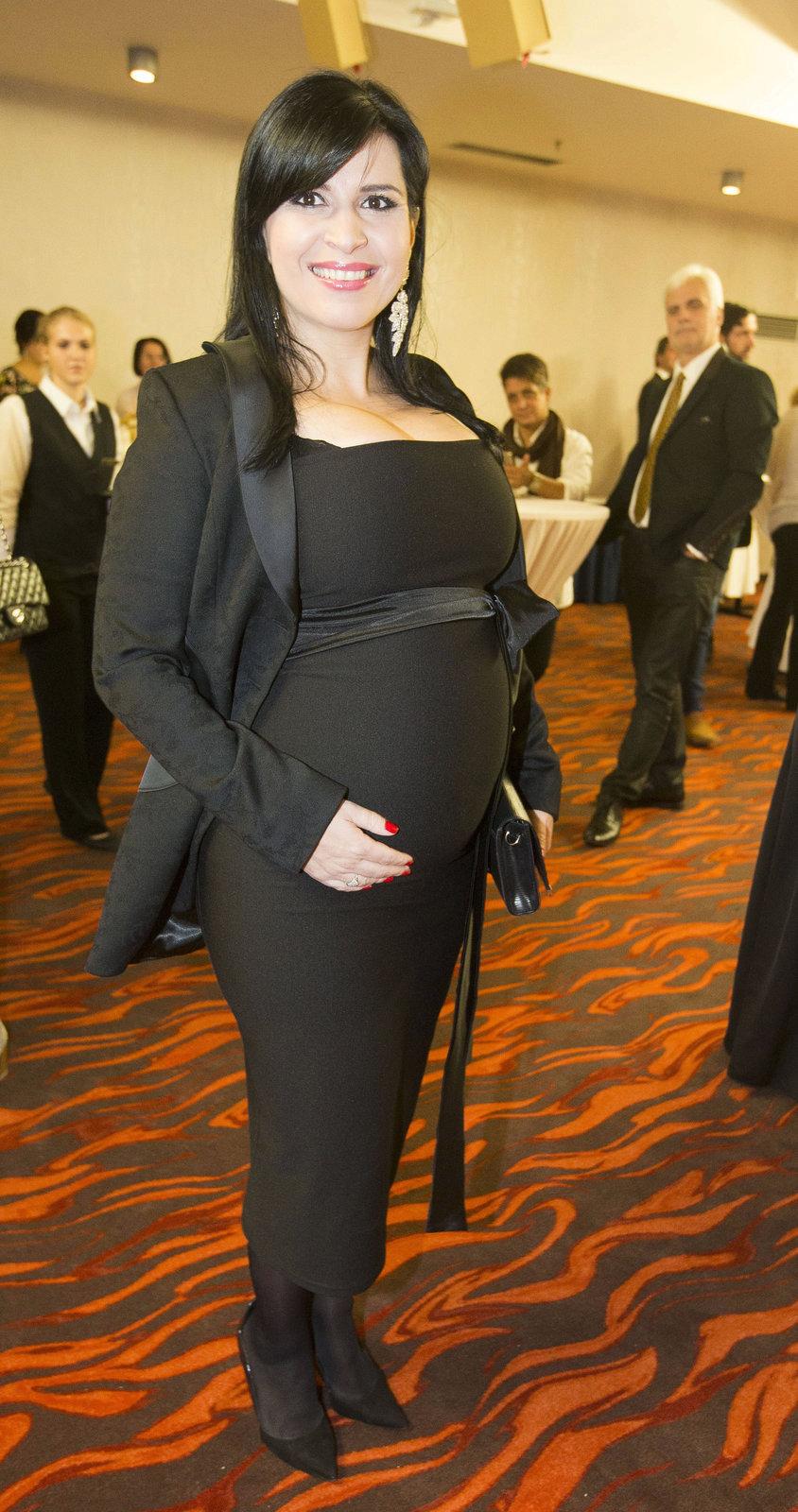Andrea Kalivodová je v 8. měsíci těhotenství.