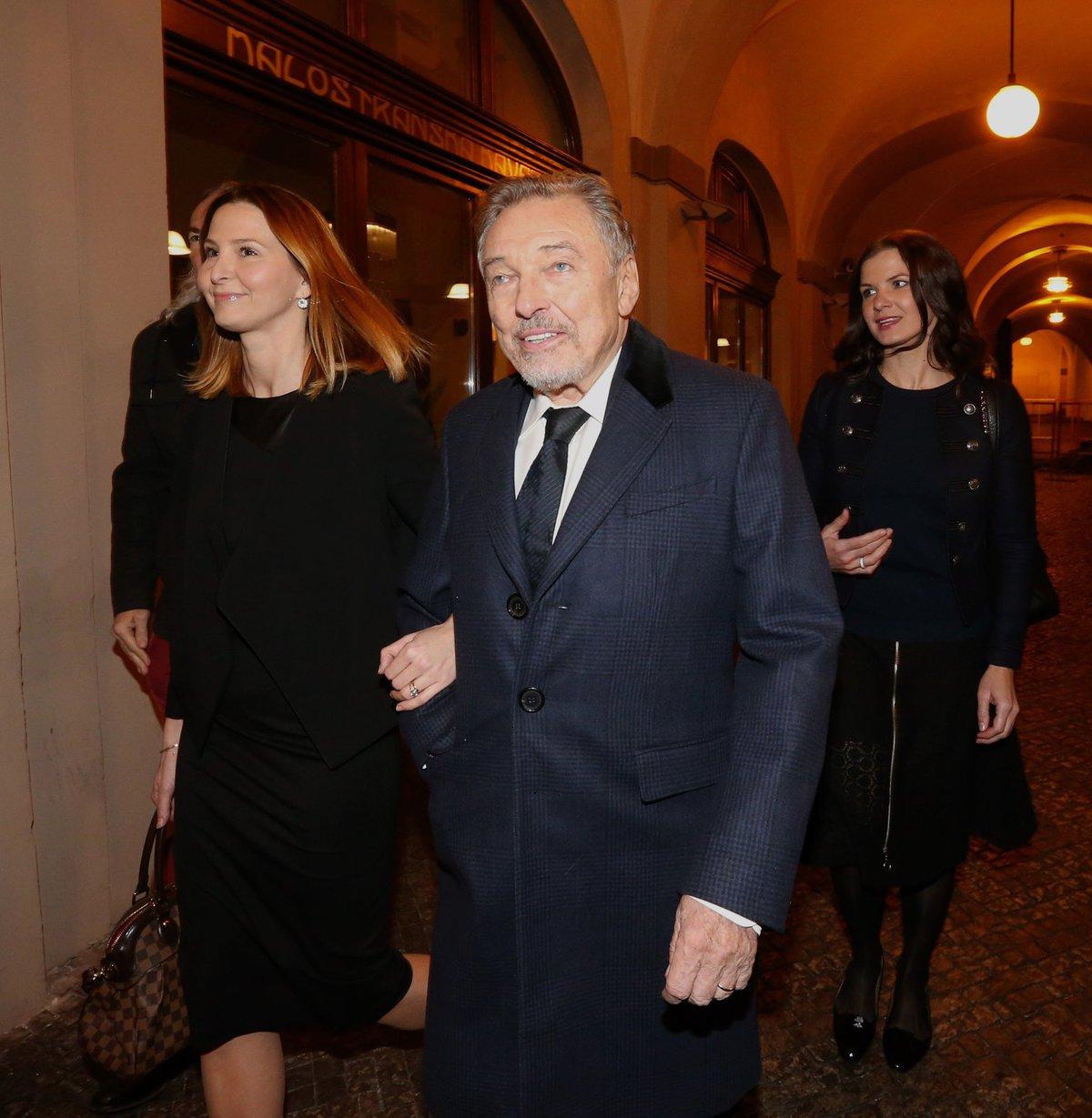 Karel Gott a Ivana Gottová.