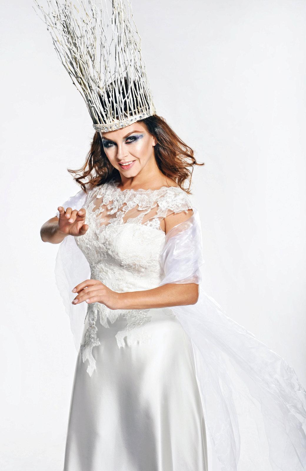 Dana Morávková jako ledová královna.