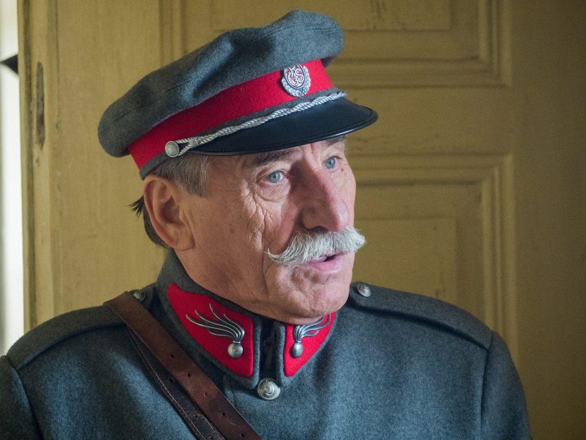 Pavel Zedníček v uniformě.