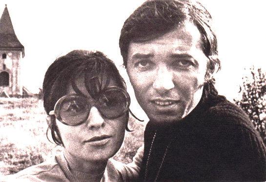 Karel Gott s Antonií v sedmdesátých letech.