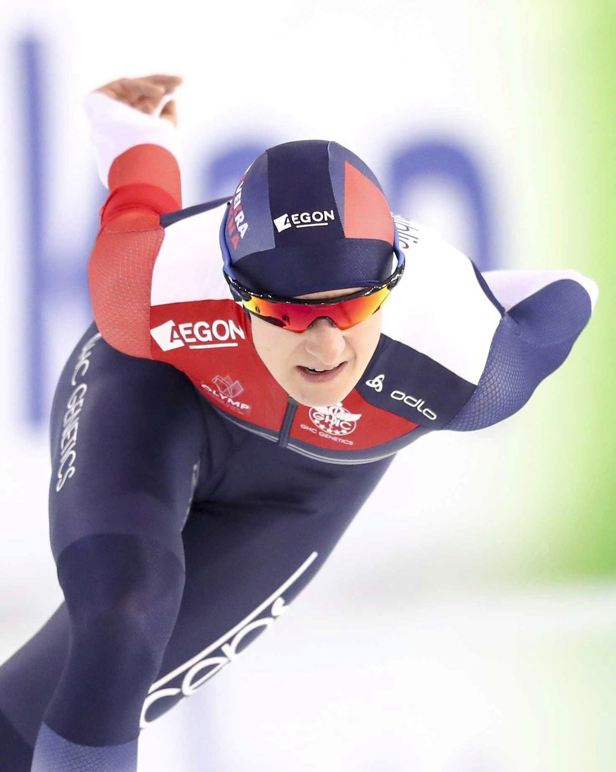 Martina Sáblíková získala na evropském šampionátu v Heerenveenu stříbrnou medaili.