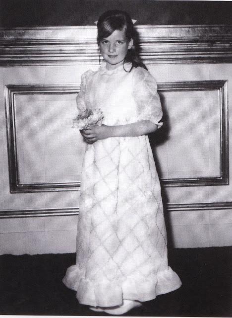 Diana na svatbě v roce 1970.