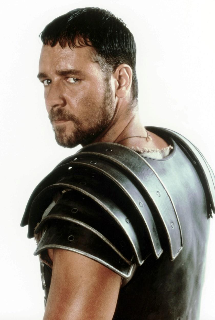 Australský herec Russell Crowe zazářil v oscarovém snímku Gladiátor
