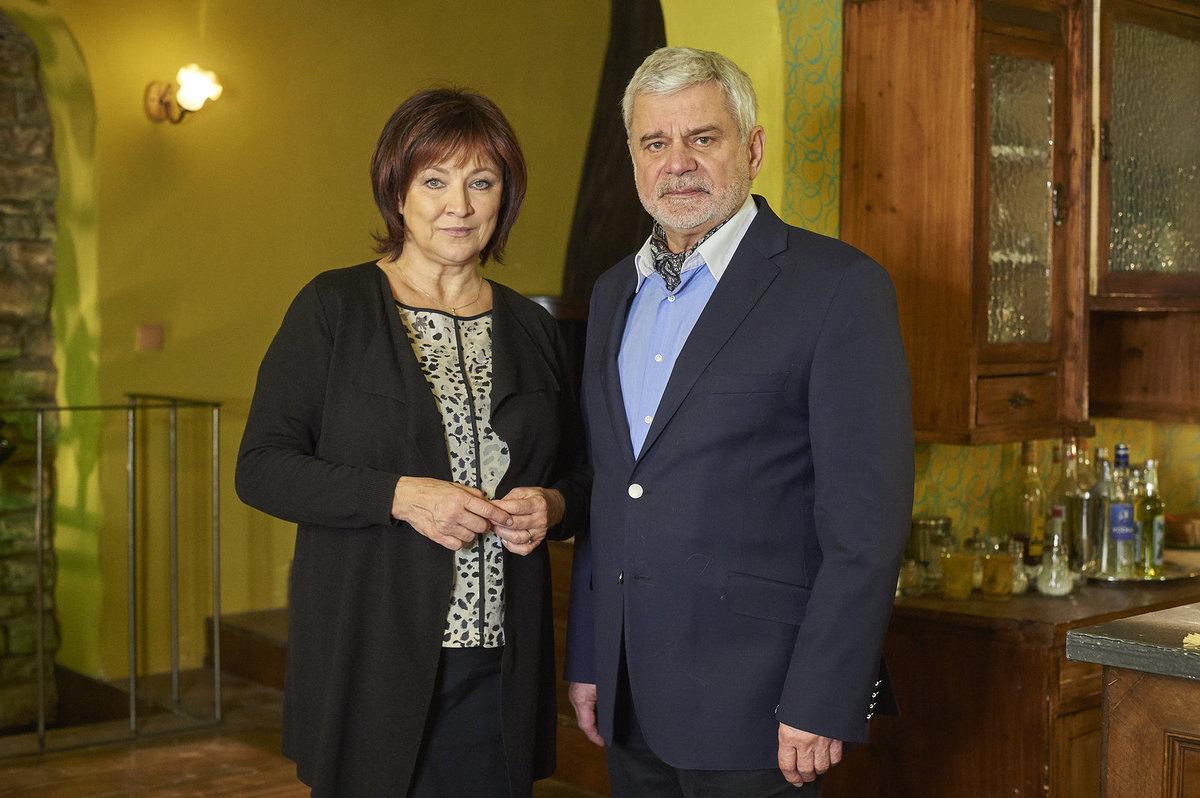 Petr Štěpánek a Zlata Adamovská v Ordinaci.